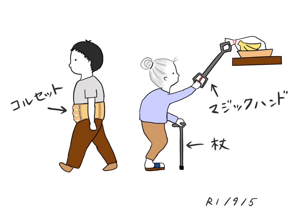 福祉用具のイラスト
