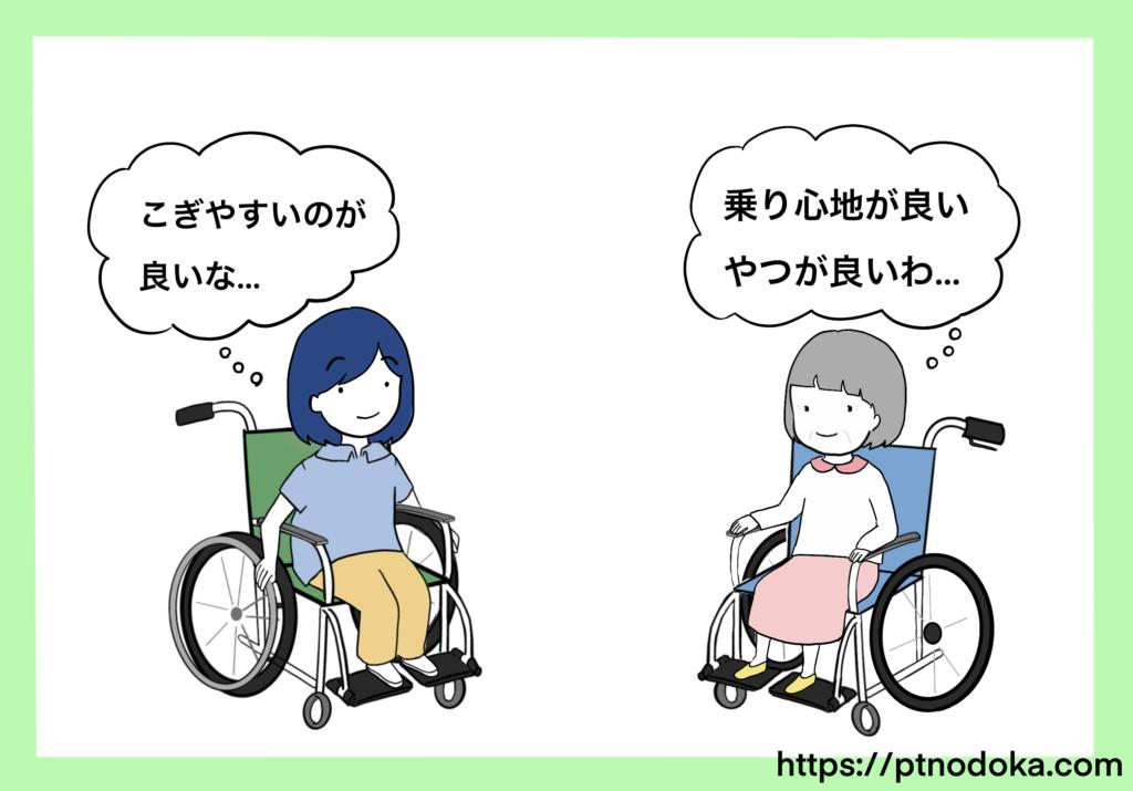 車椅子の選び方