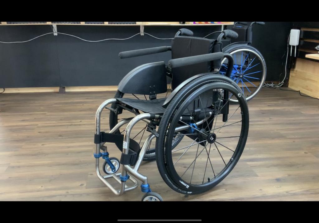 TiLiteの車椅子の写真