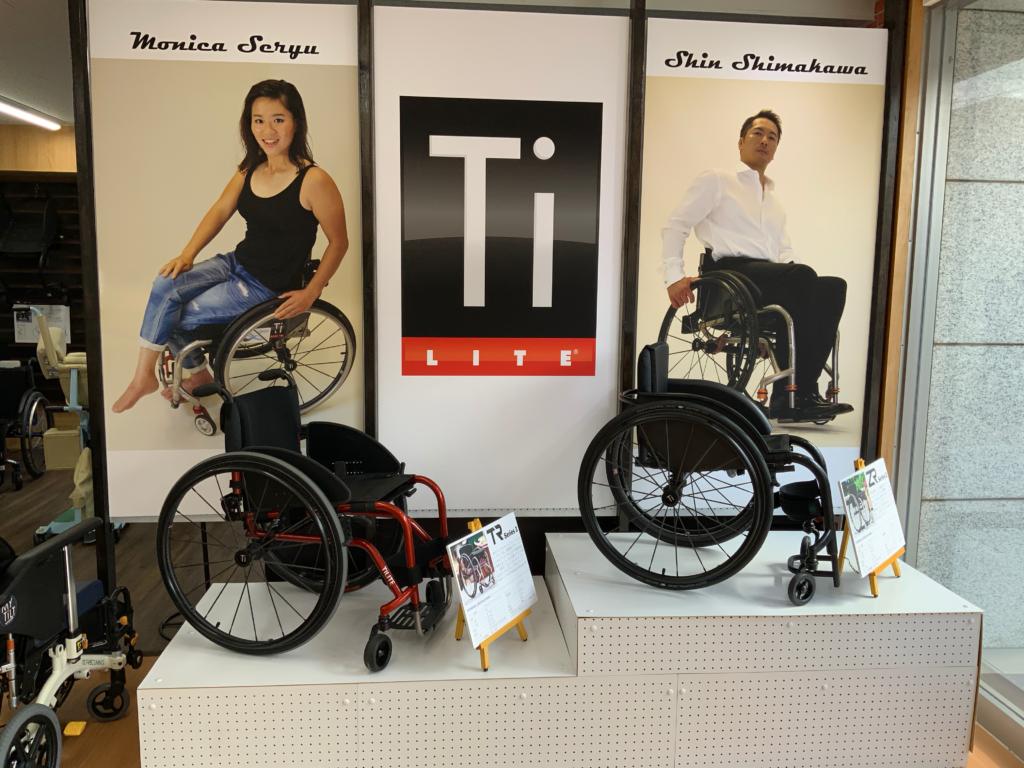 TiLite車椅子の写真