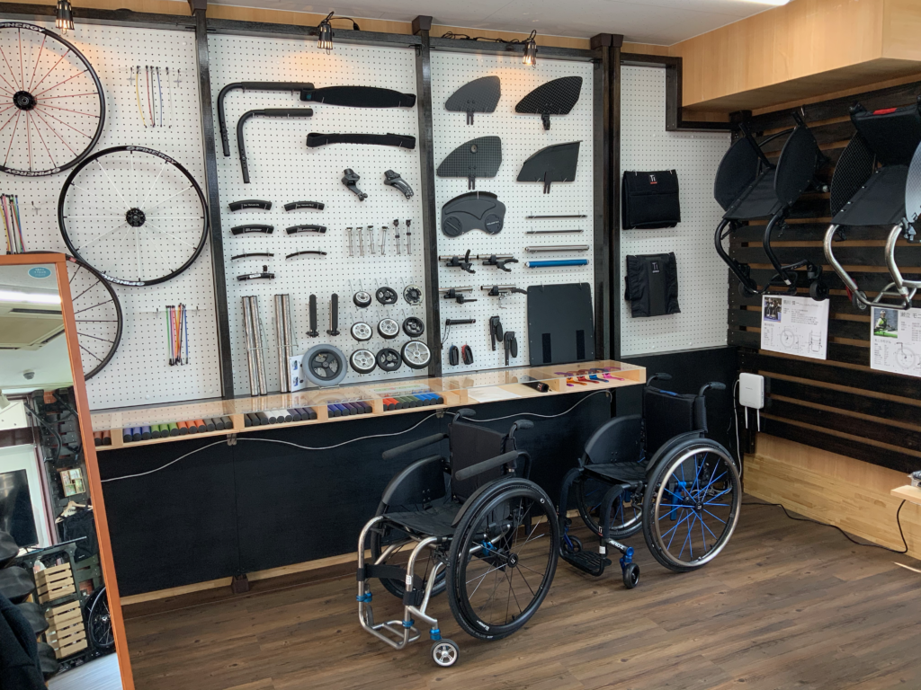アビリティーズ吉祥寺店のTiLite車椅子の写真