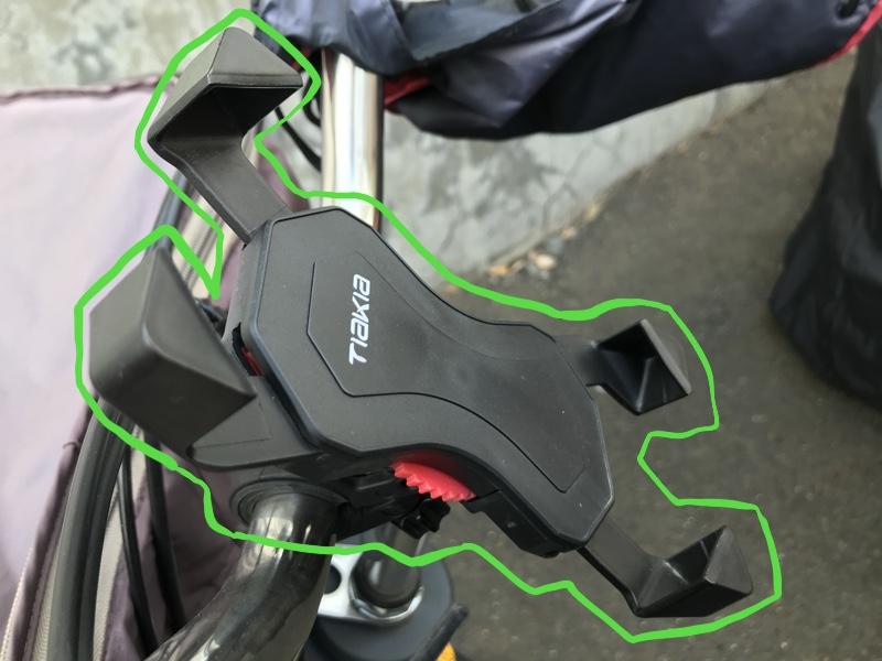 BEST1:自転車用スマホホルダー